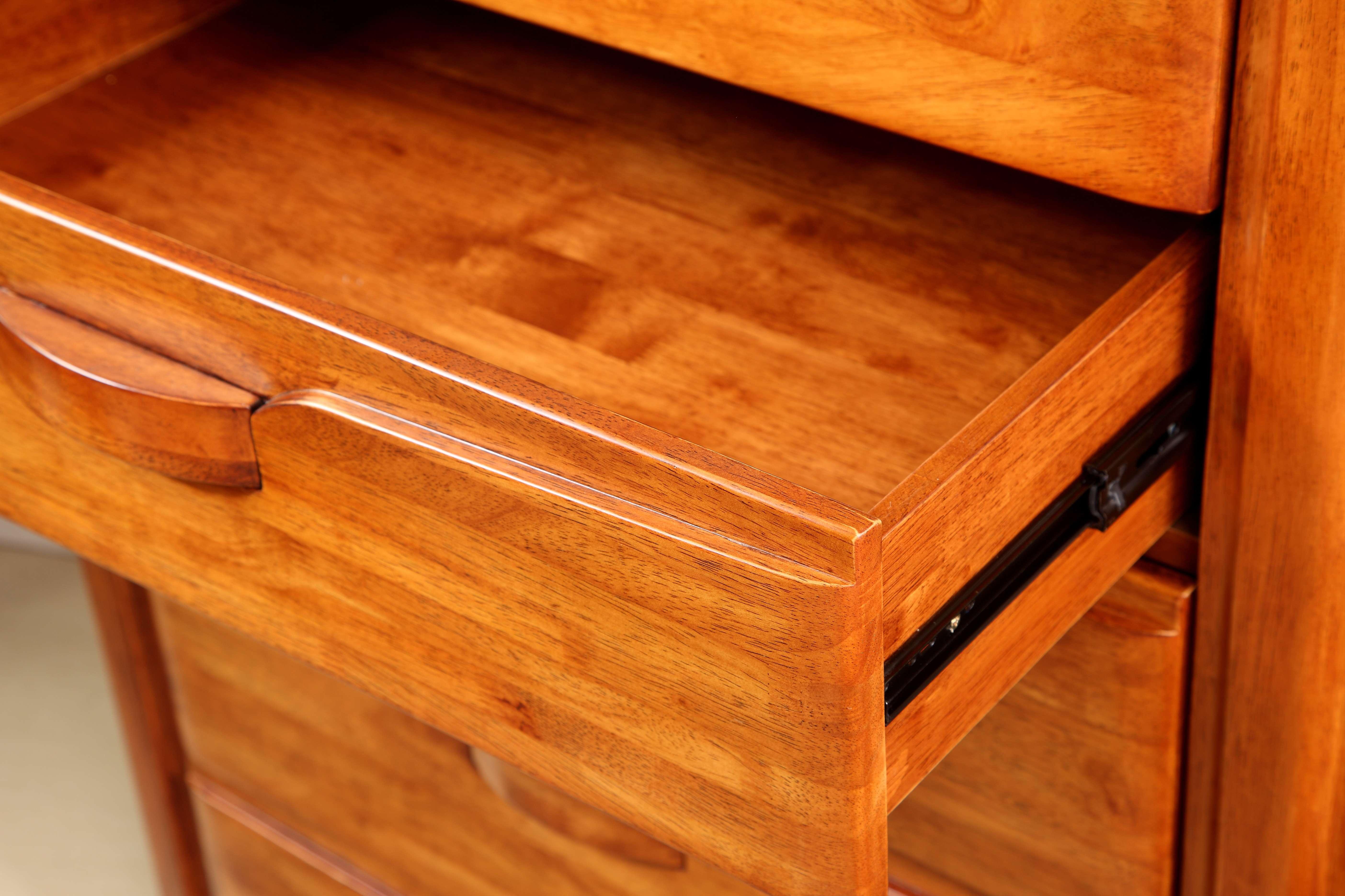 【木色天香】南洋芯木中式五斗橱柜